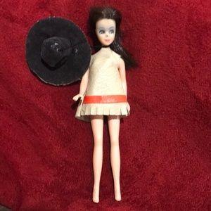 Vintage Dawn Cowgirl Doll